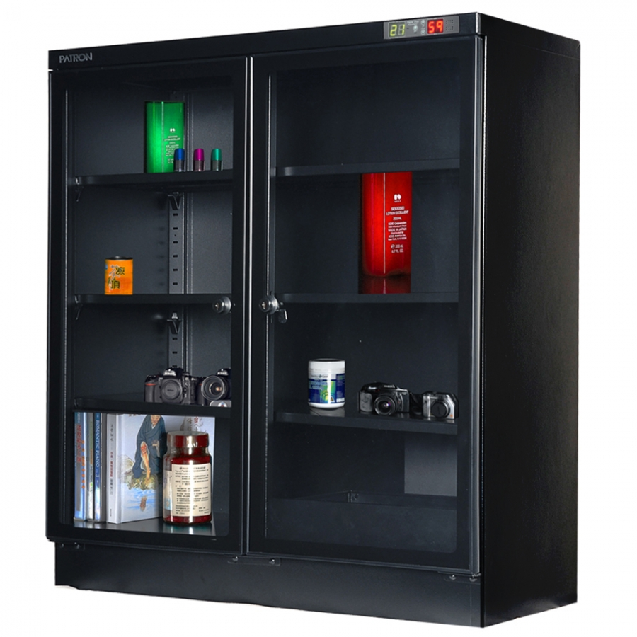 LED Dual Humidity Dry Cabinet