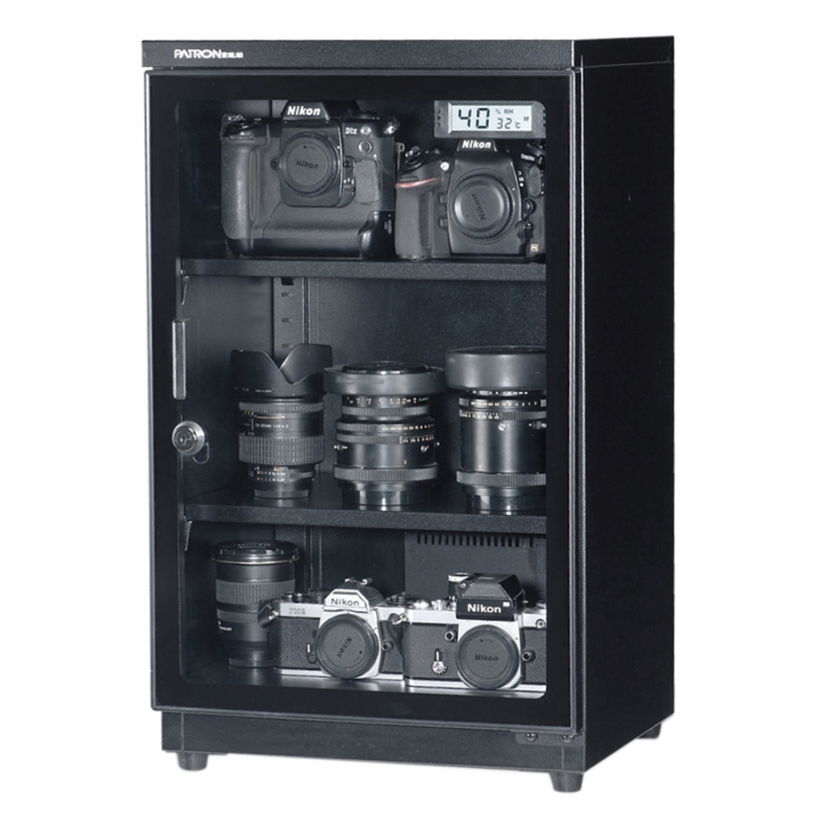 LCD Humidity & Temperature Dry Cabinet