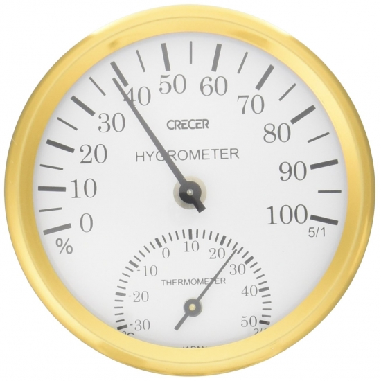 CRECER日本製濕度錶-